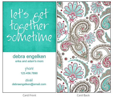 play date card